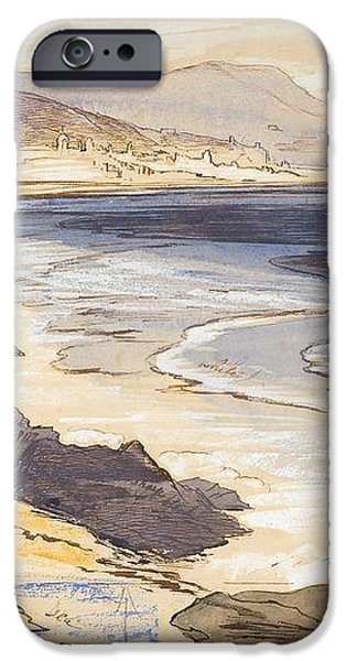 Finale iPhone Case by Edward Lear