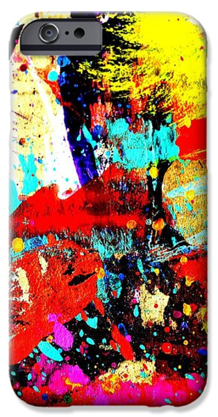 Fine Art Abstract iPhone Cases - Fine Art America Abstract iPhone Case by John  Nolan
