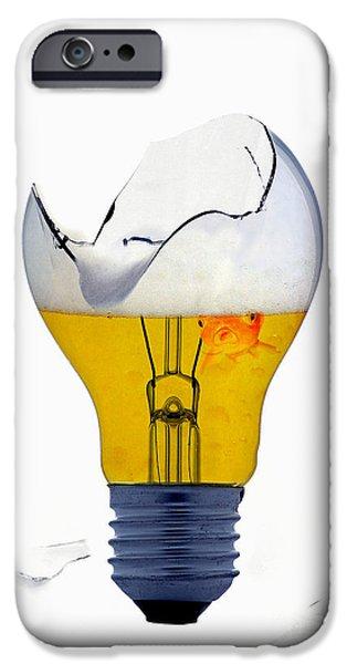 Fine Art Untitled No.27 iPhone Case by Caio Caldas