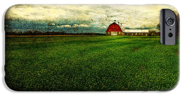 Old Barns iPhone Cases - Finished iPhone Case by Lois Bryan