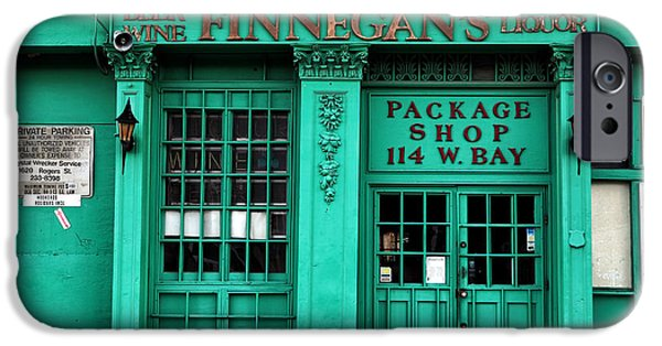 Chatham iPhone Cases - Finnegans of Savannah iPhone Case by John Rizzuto