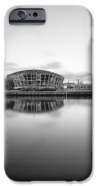 Finnieston Crane Glasgow iPhone Case by John Farnan