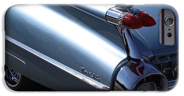 Automotive iPhone Cases - Fins Are In iPhone Case by Bill Spittle