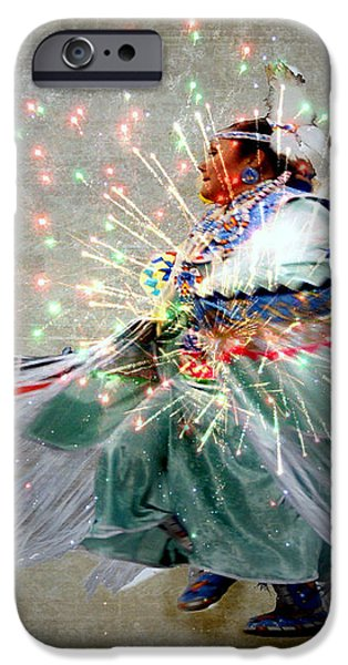 fire Dance iPhone Case by Irma BACKELANT GALLERIES