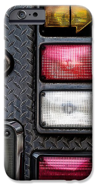 Fire Engine  iPhone Case by Bob Orsillo
