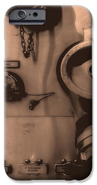 Fire Engine Number Six iPhone Case by Bob Orsillo