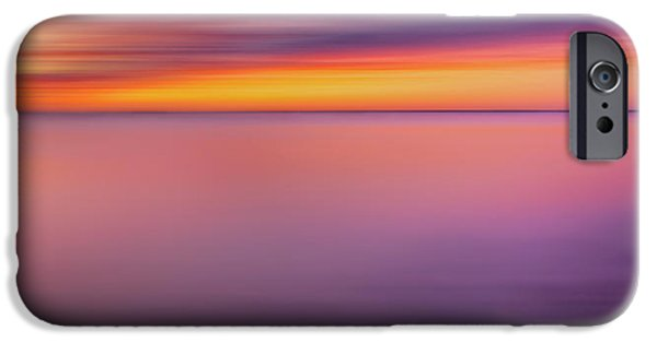 Soft Colour iPhone Cases - Fire In The Sky iPhone Case by Bill  Wakeley