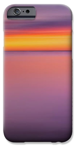 Fire In The Sky iPhone Case by Bill  Wakeley