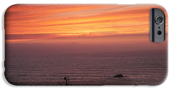 The Best Sunset iPhone Cases - Fire In The Sky iPhone Case by Melany Sarafis