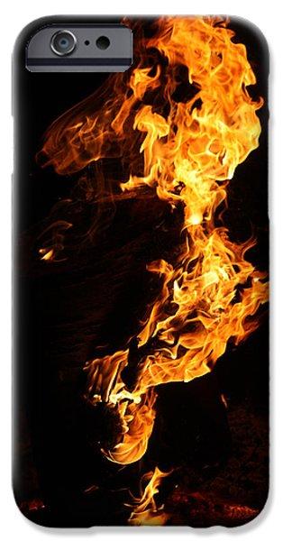 Fire iPhone Case by Pedro Correa
