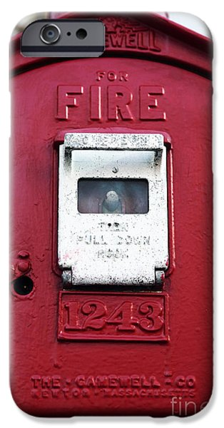 Fire Pull iPhone Case by John Rizzuto