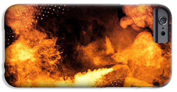 David iPhone Cases - Fire Walk with Me iPhone Case by Loriental Photography