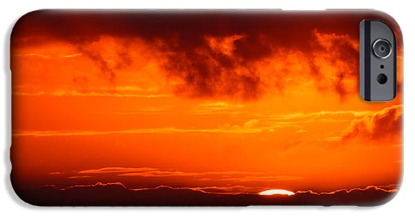 Nature Study iPhone Cases - Fireball iPhone Case by Adam Romanowicz