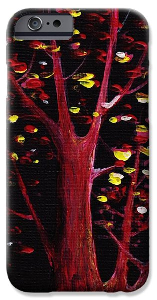 Fall iPhone Cases - Firefly Dream iPhone Case by Anastasiya Malakhova