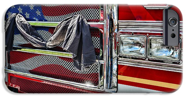 Paul Pierce iPhone Cases - Fireman - Remembering Fallen Heroes iPhone Case by Paul Ward