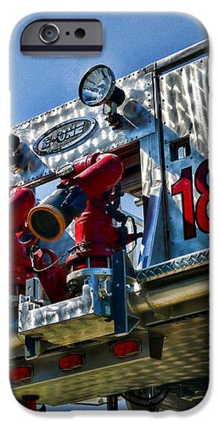 Fireman - The Fireman's Ladder iPhone Case by Paul Ward