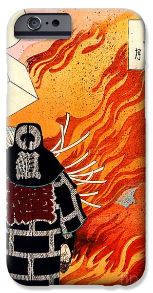 Padre Art iPhone Cases - Firemen Signaling 1886 iPhone Case by Padre Art