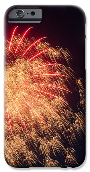 Firework 4 iPhone Case by David Nace