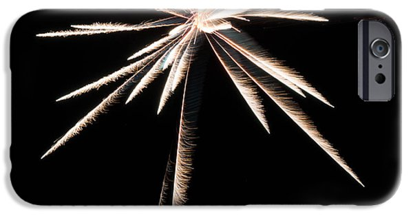 Fireworks Pyrography iPhone Cases - Firework iPhone Case by Nate Garner