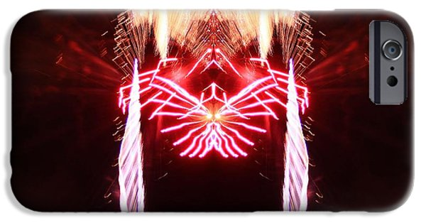 Fourth Of July iPhone Cases - Firework Reflection iPhone Case by Dan Sproul