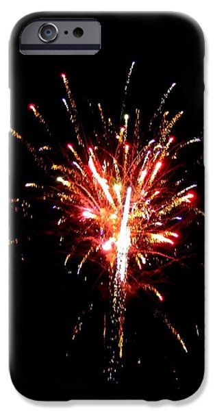 Fireworks 10 iPhone Case by Mark Malitz