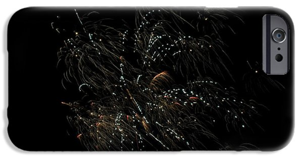 Independance Lake iPhone Cases - Fireworks 16 iPhone Case by Cassie Marie Photography