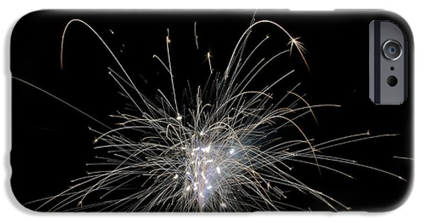 Independance Lake iPhone Cases - Fireworks 21 iPhone Case by Cassie Marie Photography