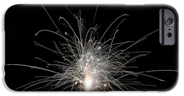 Independance Lake iPhone Cases - Fireworks 22 iPhone Case by Cassie Marie Photography