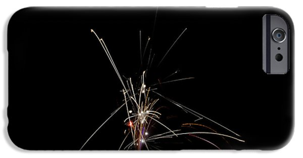 Independance Lake iPhone Cases - Fireworks 25 iPhone Case by Cassie Marie Photography