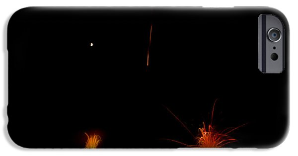 Independance Lake iPhone Cases - Fireworks 27 iPhone Case by Cassie Marie Photography