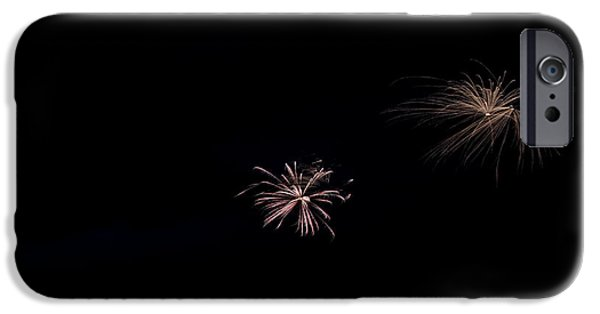Independance Lake iPhone Cases - Fireworks 30 iPhone Case by Cassie Marie Photography