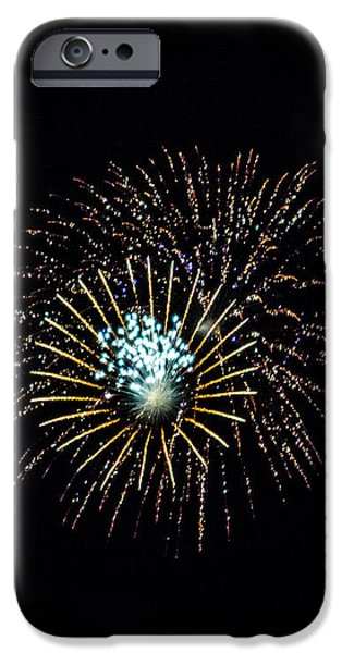 Fireworks 4 iPhone Case by Black Brook Photography