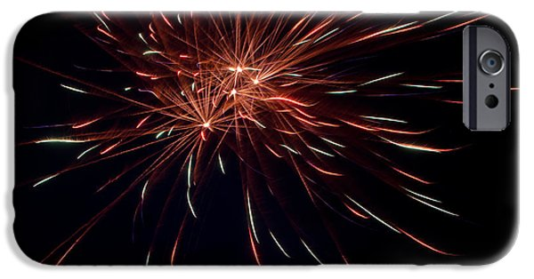 Independance Day iPhone Cases - Fireworks 40 iPhone Case by Cassie Marie Photography