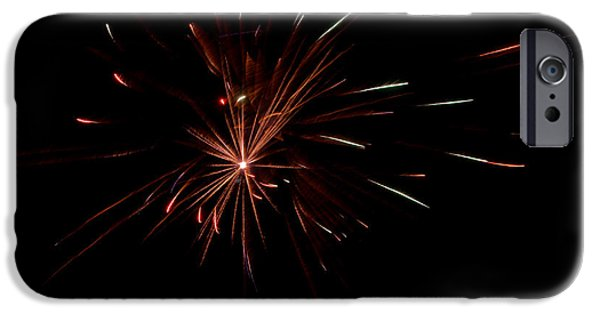 Independance Day iPhone Cases - Fireworks 41 iPhone Case by Cassie Marie Photography
