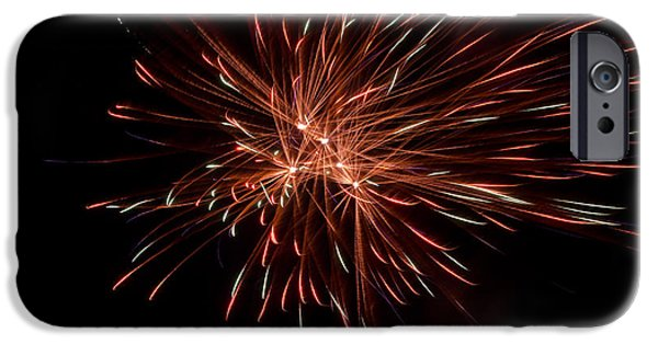 Independance Day iPhone Cases - Fireworks 42 iPhone Case by Cassie Marie Photography