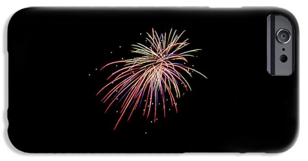 Independance Day iPhone Cases - Fireworks 44 iPhone Case by Cassie Marie Photography
