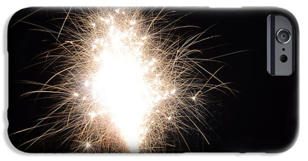 Independance Lake iPhone Cases - Fireworks 46 iPhone Case by Cassie Marie Photography