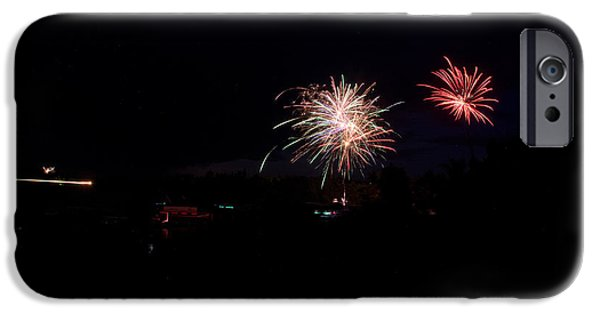 Independance Day iPhone Cases - Fireworks 49 iPhone Case by Cassie Marie Photography