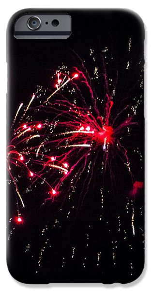 Fireworks 5 iPhone Case by Black Brook Photography