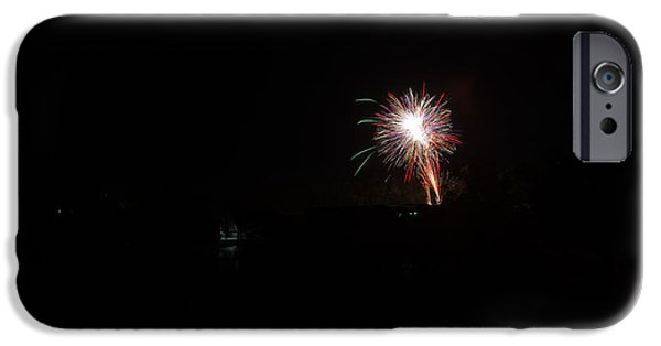 Independance Day iPhone Cases - Fireworks 50 iPhone Case by Cassie Marie Photography