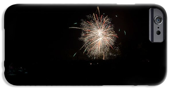 Independance Day iPhone Cases - Fireworks 51 iPhone Case by Cassie Marie Photography