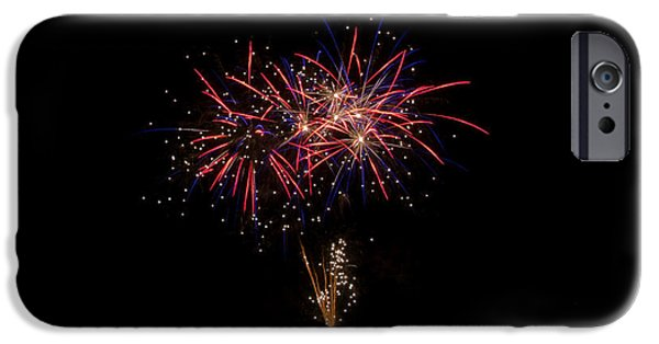 Independance Day iPhone Cases - Fireworks 52 iPhone Case by Cassie Marie Photography