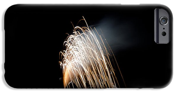 Independance Lake iPhone Cases - Fireworks 8 iPhone Case by Cassie Marie Photography