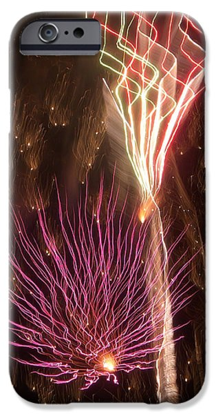 Fireworks iPhone Case by Aimee L Maher Photography and Art