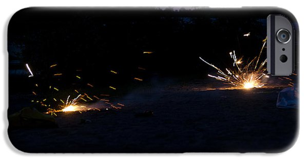 Best Sellers -  - Independance Day iPhone Cases - Fireworks  iPhone Case by Cassie Marie Photography