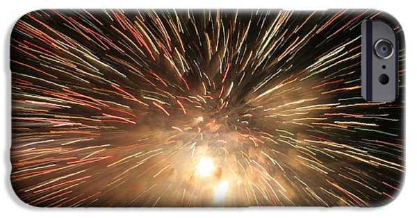 Recently Sold -  - 4th July iPhone Cases - Fireworks iPhone Case by Diana Matlock