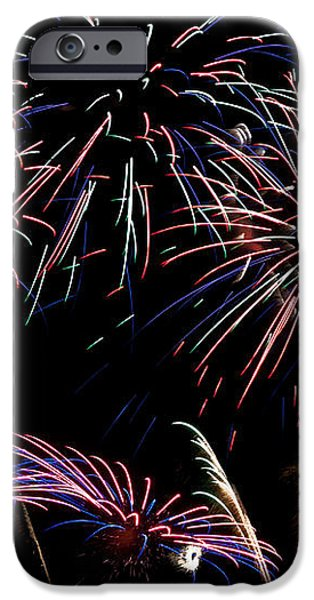 Fireworks Extravaganza 2 iPhone Case by Steve Purnell