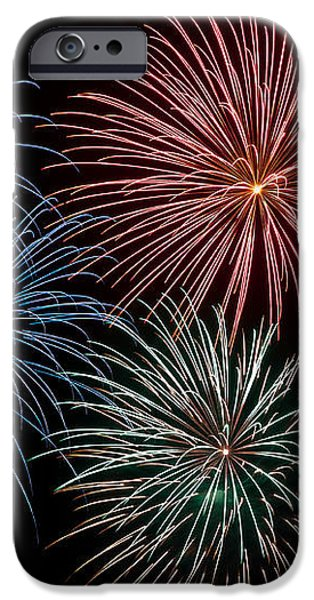 Fireworks Extravaganza 4 iPhone Case by Steve Purnell