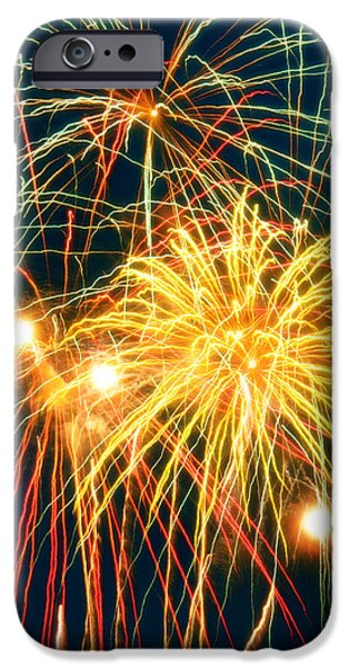 Fireworks Finale iPhone Case by Doug Kreuger