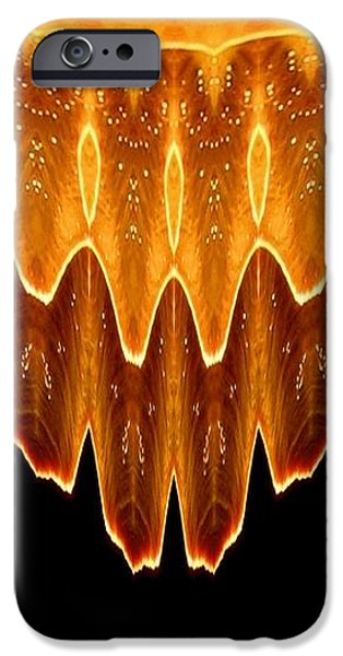 Fireworks Melting Abstract iPhone Case by Rose Santuci-Sofranko